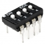 DIP Switch 4 poli