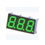 Display 7 seg. 3 Digit Verde