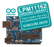 arduino audio library lpm11162